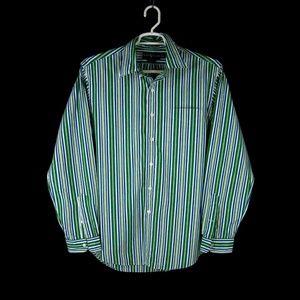 RALPH LAUREN Custom Fit Cotton Button Down Shirt